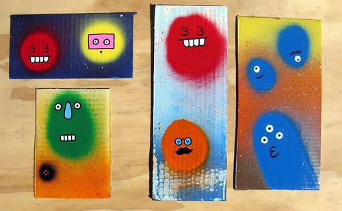 fast paintings #83-86