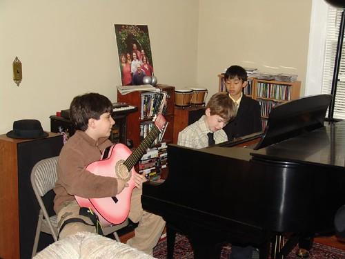 slam piano & guitar