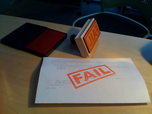 FAIL stamp by hans.gerwitz.