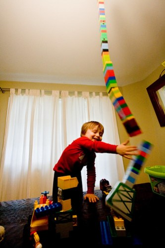duplo tower vs domenicozilla