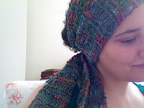 Ribbon Drop Scarf (detail)