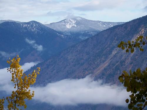 Cabinet Mountain peak