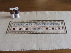 Thread Gathering - Little House Needleworks