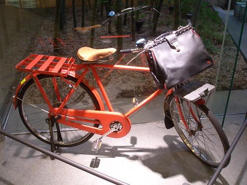 the postman's bike
