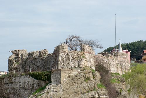 Riva castle, blacksea region in Istanbul, pentax k10d