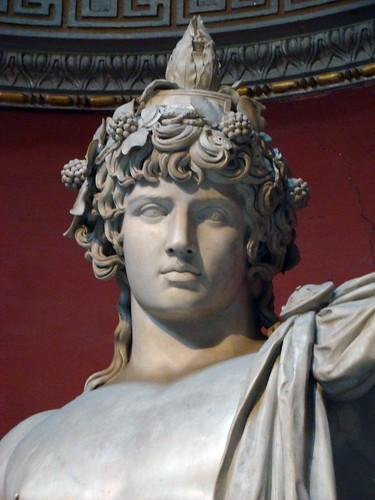 HISTORIA CLASICA Antinoo en los Museos Vaticanos de Roma