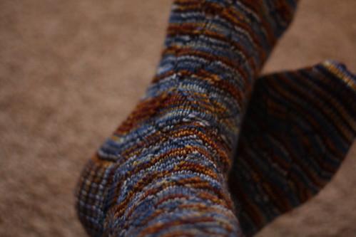 Staggering Monkey socks
