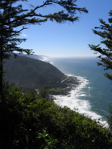 Day 08 - View South from Cape Perpetua