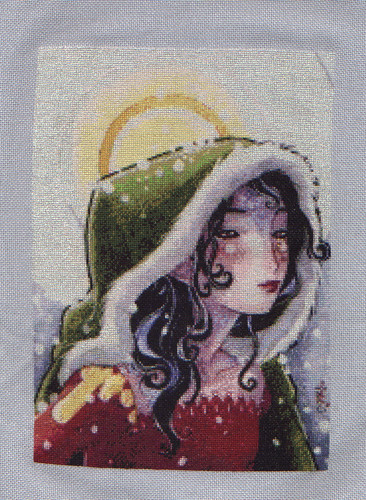 Winter ACEO completed!
