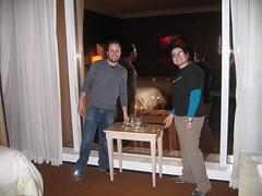 Avi Wilensky and Tamar Weinberg - Pubcon Vegas 2007