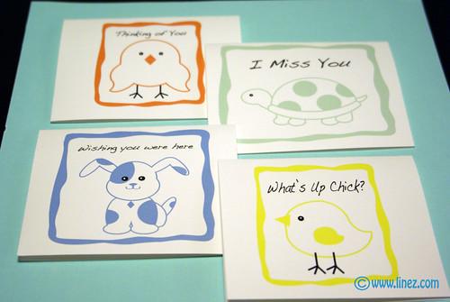 Animal Note Card Set