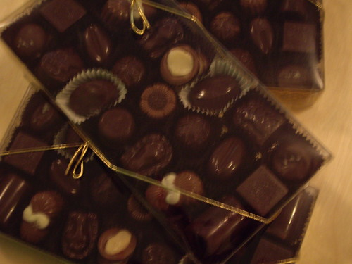 Boxes of Mother's Day Chocolates