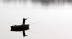 Fishing at Blenhiem
