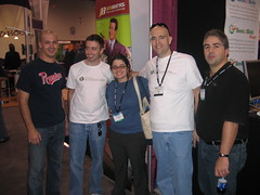 Dave, Nate, Tamar, Jeremy, Michael - Pubcon Vegas 2007