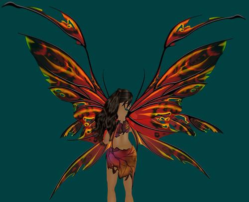 Fancy Fairy Red Leaf II