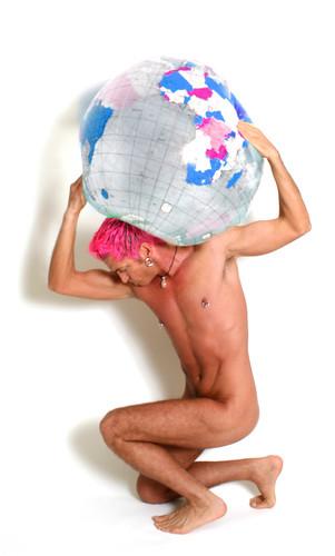 "Atlas Pink aka ""Atlas Hugged"""