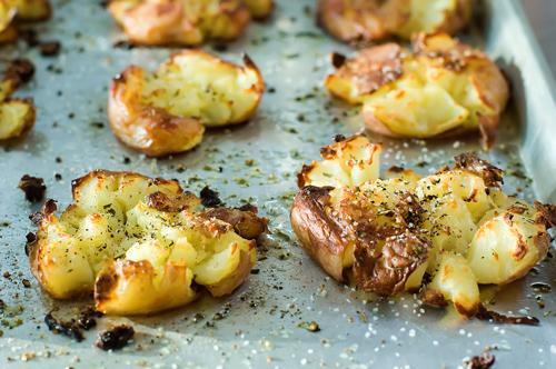 Crash hot potatoes!