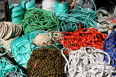 All types of rope for sale at Barcelos