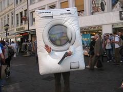 La lavatrice umana