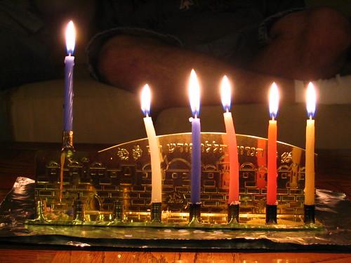 Hanukkah 2007 - Night 5