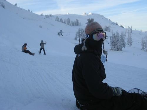 Snowboarding Ninja