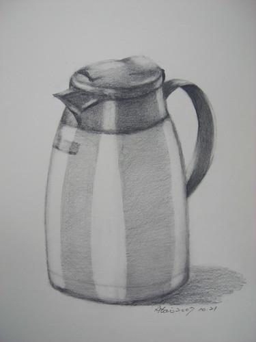 �泰的素描水壺