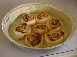 Rolls in the pan