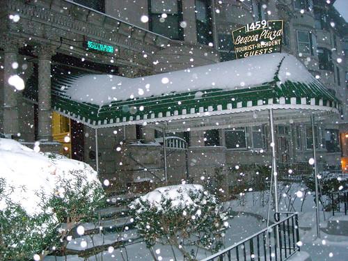 Beacon Plaza Snow
