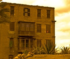 An old house.