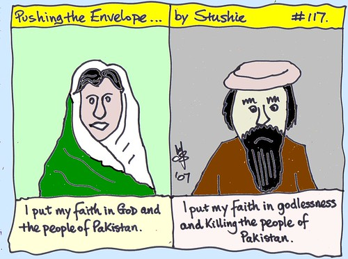 Bhutto and Bin Laden