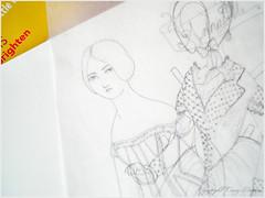 sketching away!