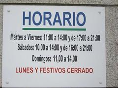 horario