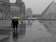 romance sous le parapluie jaune #1