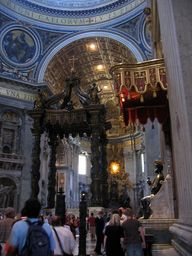 Inside St. Peters.