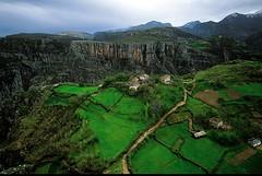 Landscape in the Kukes Region
