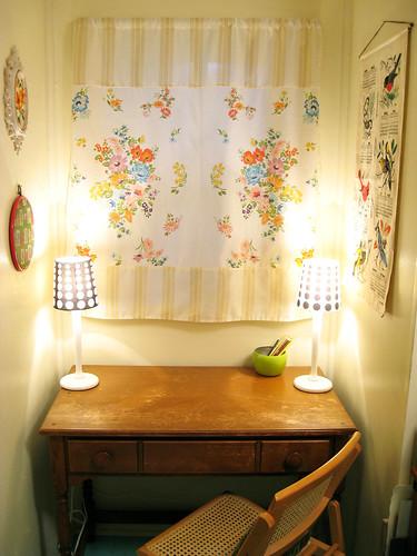 Craft room desk.