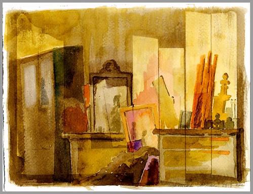 una stanza del caos, forse mia (Mario Bianco)