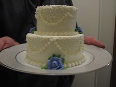6 mo anniversary cake