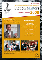 Fiction Matters, February 2008