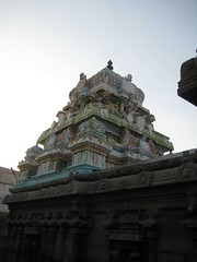 Vimanam of the Thayar Shrine