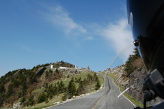 Headed up Grandfather Mountain