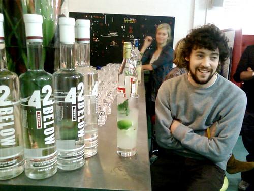 Wodka Tasting.