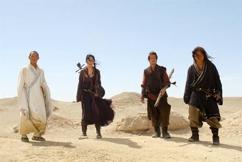 Four warriors