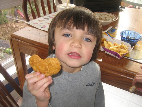 Eddie and his Heart Nugget