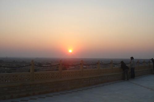 Hotel Narayan Niwas Palace1-15 夕陽