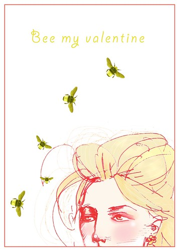 Bee my Valentine no bkgrnd by samlovesherdog.