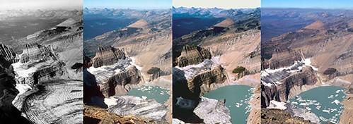 Global Warming - melting glaciers