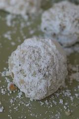 Lavender-Pistachio Tea Cakes