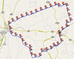 Bertram to Burnet map