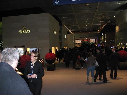 Rolex stand